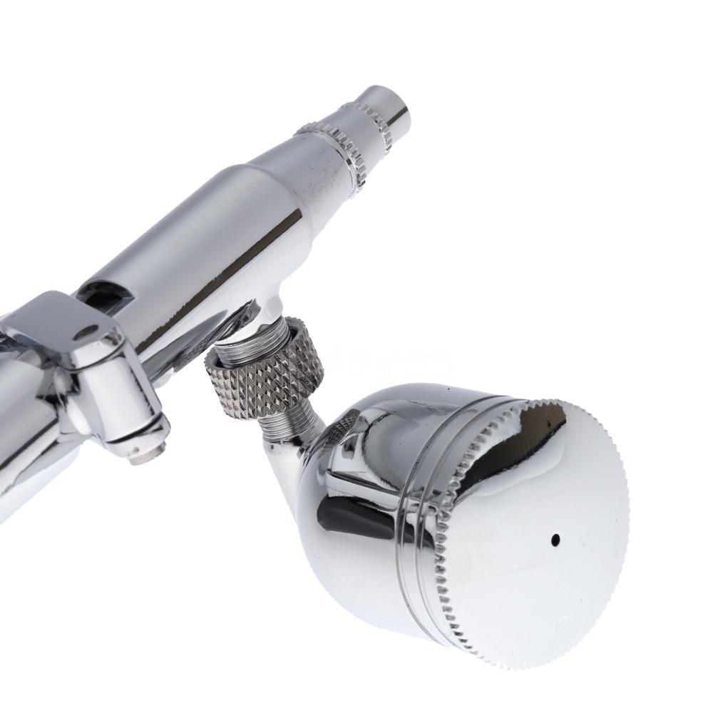 double action pistol trigger airbrush kit hose 3 tips 2. Black Bedroom Furniture Sets. Home Design Ideas
