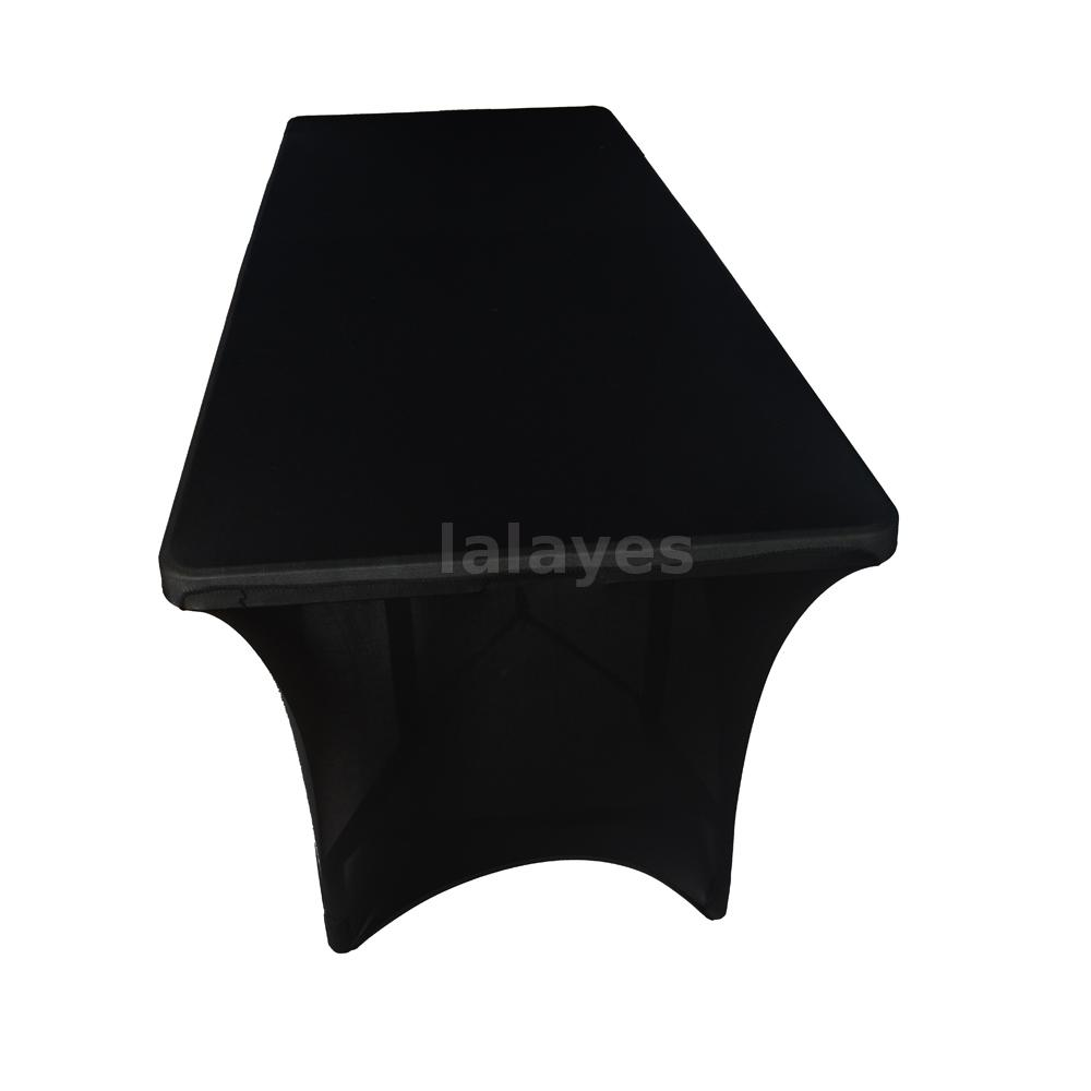 Elastic Soft Polyester Spandex Stretch Tablecloth for