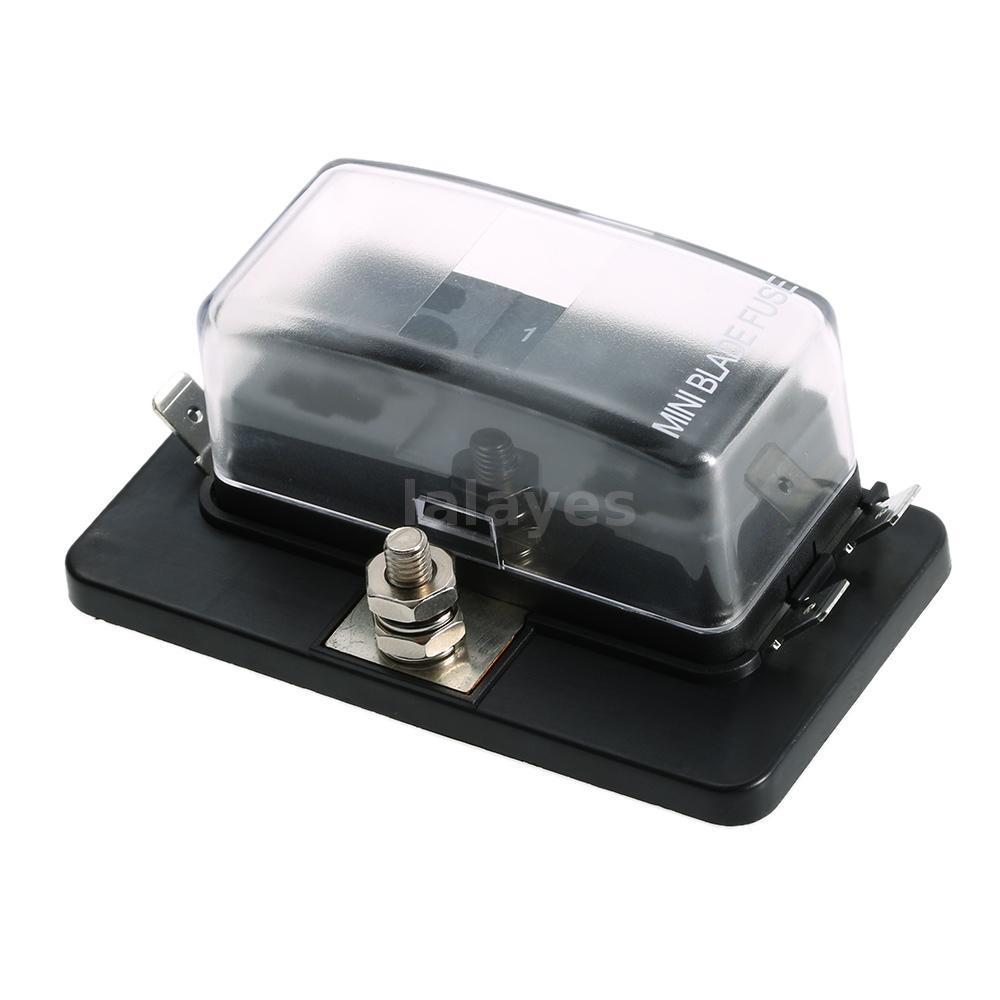 Mini Blade Fuse Holder Box : universal 4 way mini blade fuse box holder apm atm 5a 10a ~ A.2002-acura-tl-radio.info Haus und Dekorationen